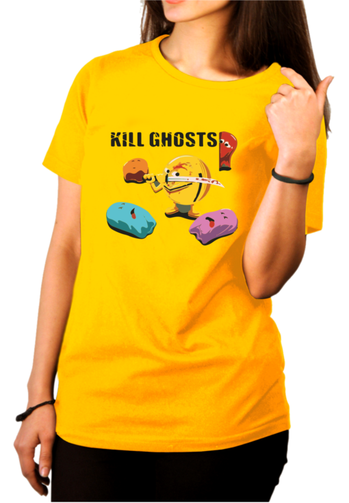 camiseta kill ghost