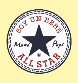 Diseño All star bebe