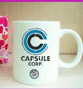 Taza Dragon Ball Capsule Corporation