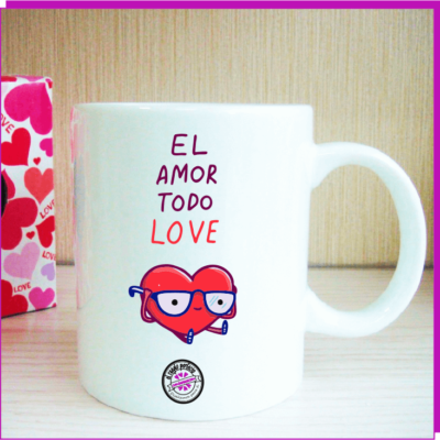 Taza original LOVE
