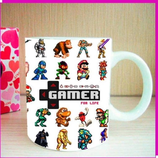 Taza Gamer For Life