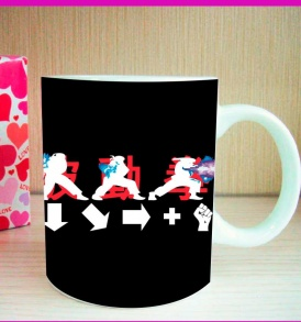 Taza Combo Street Fighter