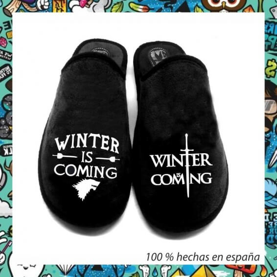 Zapatillas winter is coming