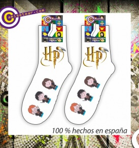 Calcetines Harry Potter logo