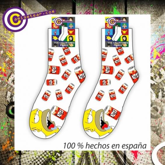 calcetines homer duff