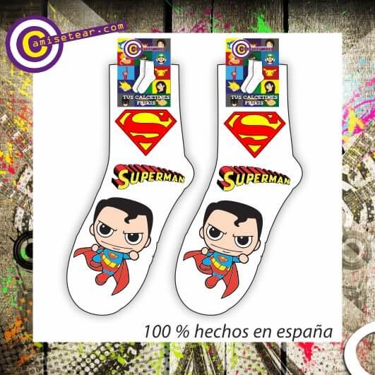 calcetines superman grande