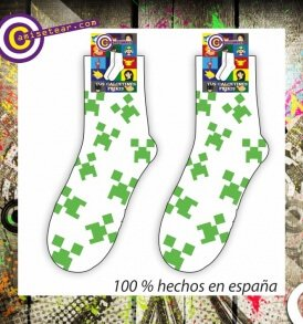 Calcetines Minecraft