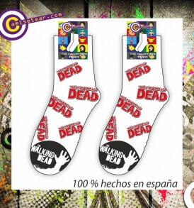 calcetines walking dead