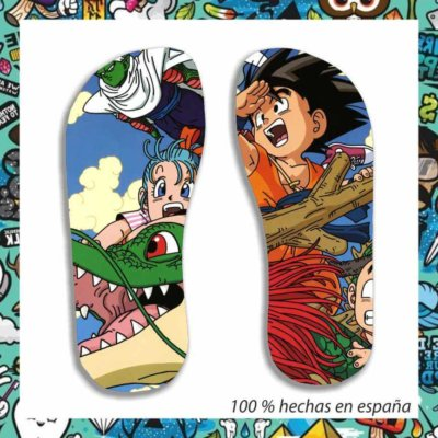 Chanclas Dragon Ball classic