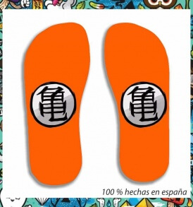 Chanclas Dragon Ball Escudo