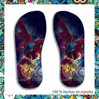 chanclas game of thrones