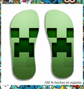 Chanclas MineCraft