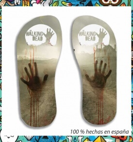 Chanclas Walking Dead