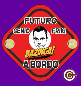 Cartel futuro sheldon a bordo