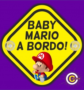 Cartel baby mario a bordo