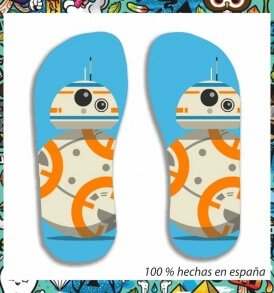 Chanclas BB8