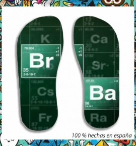 Chanclas Breaking Bad