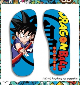 chanclas dragon ball