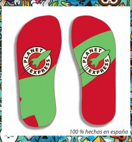 Chanclas Planet Express