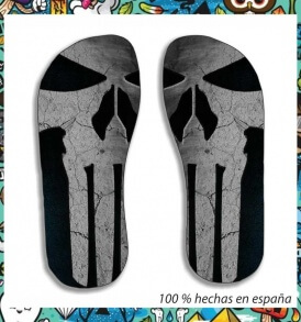 chanclas punisher