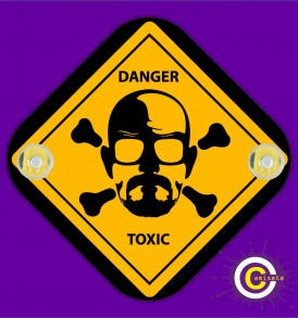 danger toxic coche breaking bad