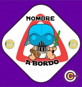 star wars a bordo