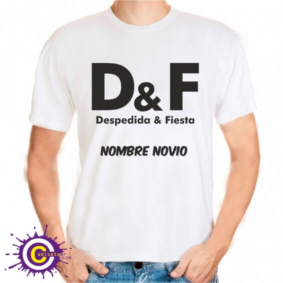 d&f camiseta low cost