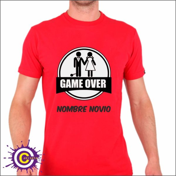 game ove despedida camiseta