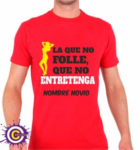 camiseta despedida la que no folle