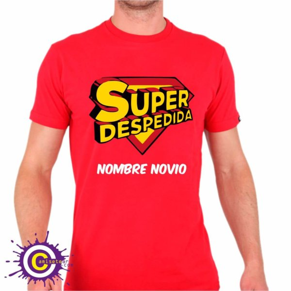 Camiseta super despedida